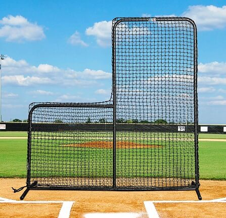 Net World Sports Fortress Regulation Baseball L-Screen
