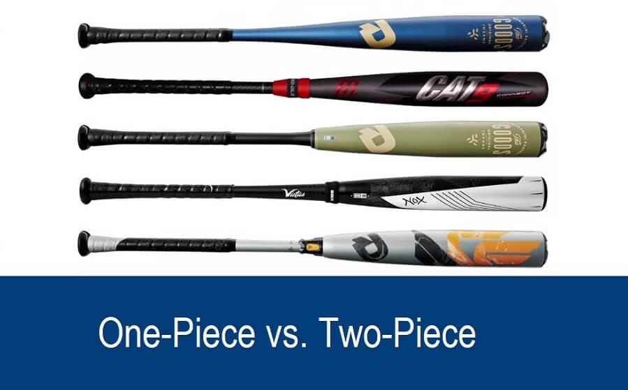 One-Piece Bats vs. Two-Piece Bats